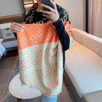 Lady Design shawls Tassels Pashmina Warm Winter Cashmere Scarf Women New Thick Wraps Print Fashion Blanket Foulard 180x65cm