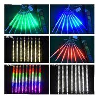 30cm 50cm Waterproof Meteor Shower Rain Tubes LED Lighting for Party Wedding Decoration Christmas Holiday LED Meteor Light GGB2379