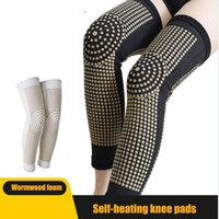 Elbow & Knee Pads 2pcs Self Heating Support Extended Brace Warm For Arthritis Joint Pain Relief And Recovery Belt Massager Foot