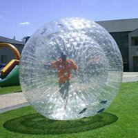 Zorb Ball Human Hamster Balls Inflatable for Land Walking or Hydro Water Zorbing Games with Optional Harness 2.5m 3m