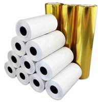 Gift Wrap 5.7cm 8cm Width,13m Long Cash Register Paper Thermal Pos Machine Printing Small Ticketpaper Roll