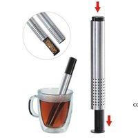 Чай ситечко палочка из нержавеющей стали труба дизайн сетки чайный фильтр портативный чай инфуз чайник DHD8494
