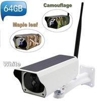 Color SolarPower WIFI IP Camera1080P 2MP Wireless Remote Monitor Security Camera IR Night Vision Wild Hunting Cameras