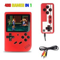Handheld Video Games Console Built-in 400 Retro Classic 3.0 Inch Screen Portable 8 Bit Gaming Player Mini Pocket Gamepads Game Players