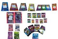 Hologram Dank Gummies Çanta 500mg sakızlı mylar çanta kitaplar paketleme 10 seçenek için türler DHL