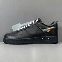 Femmes de qualité supérieure de qualité supérieure Chaussures pour hommes Dunk gris brouillard WHTE Traqueurs noirs Forcer Travis 1 Sneakers