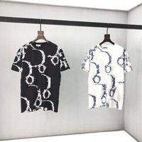 Camiseta estilo casual mujeres hombres ropa poliéster material letra patrón manga corta camisetas polos