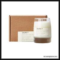 Epack duftende Kerze 200g fester Parfüm berühmter Duft Cedre Calone Petit Grain Santal Laurier