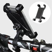 Supports de téléphone portable Porte-boutiques de motocycle de vélo Moto Bike Porte-mobile Support Support de support de guidon Célular pour SmartPhon universel