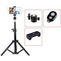 Selfie Monopods X7 Stretchable Tripod Stand Stick Video Live Stabilizer Cellphone DSLR Cameras Holder Portable Folding Desktop Mount