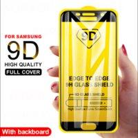 9D Full Cover Tempered glass on For Samsung Galaxy A5 A6 A7 A8S A9 Screen Protector J8 J3 J4 J5 J6 J7 Pro Protective Film 2017-8