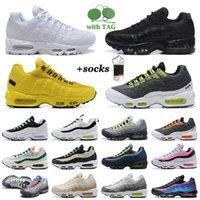 95 мужских кроссовки больших размеров US 12 Ультрамарин черный белый yin yang og seahawks серый неоновый обратный stash Необходимо 95s мужчины женщин тренеров спортивные кроссовки EUR 36-46