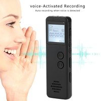 Digital Voice Recorder Kebidumei 8GB 16GB 32GB Audio Recording Activated Telephone Record MP3 Player Dictaphone