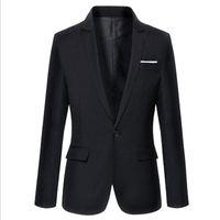 Men's Suits & Blazers Mens Casual Autumn Spring Fashion Slim Suit Jacket Men Blazer Masculino Clothing Vetement Homme M~3XL
