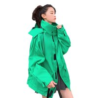 Workwear Windbreaker Women's Clothes 2021 Spring Autumn Korean Retro Loose Short Trench Coats Hooded Outerwear F681