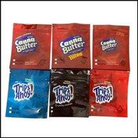 Boş 250 mg 500mg Canna Tereyağı Bite Gezileri Ahoy Çanta Koku Geçirmez Ambalaj Çikolata Yenilebilir Çerez Çanta Kızarmış Pirinç Tahıl Mylar Paketi