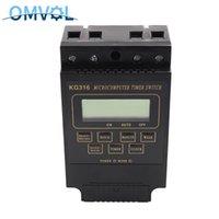 Smart Control Home 1 PC DIN Rail Montagem Microcomputador Timer Switch KG316 KG316T Programável 10A Digital Tempo