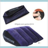 Yastık Yatak Malzemeleri Ev Tekstili Bahçe Şişme Seks Mobilya Vücut Destek Pedleri Üçgen Aşk Pozisyon Kullanımı Hava Üfleme Yastık