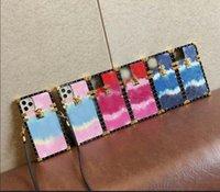 Designer Telefon Hüllen für iPhone 12 Mini 11 PRO MAX XS XR x 7/8 plus Mode Geprägte PU-Leder Luxus Volle Abdeckung Hülle