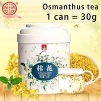 Сладкий ароматный османтус чайный цветок мед 1 банка 30 г
