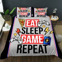 3D designer Gamepad twin queen size Bedding Sets Machine Washiing one Duvet Cover two Pillow Casess comforter Covers no.14