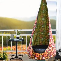 Tents And Shelters Portable Swing Hammock Chair Pods Outdoor All Season Hanging Seat Camping Stuff Accessories Grounding Mat