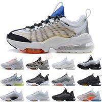 Yastık ZM950 Erkek Koşu Ayakkabıları Üçlü Siyah Gümüş Beyaz Gökkuşağı Oreo Neon 950 S Kadın Erkek Spor Eğitmenleri Sneakers Chaussures