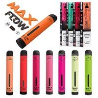 Hympe Max Flow jetable E Cigarettes de Vape Pen 6 ml Pre remplie Cartouche Pre remplie Vaporisateur 900mAh Batterie XXL Bang