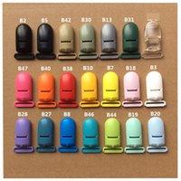2.0cm KAM Marke Kunststoff Baby Schnuller Dummy Kettenhalter Clips für 20mm Ribbon Hosenträger Clips 933 x2