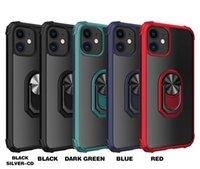 iPhone 12 Pro Max 6 7 8 Plus 11 XR XS TPU + PC 2의 자기 투명 전화 케이스
