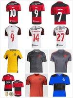 21/22 Flamengo Soccer Jerseys مشجعي المشجعين Diego Gabriel B. De Arsisaeta B.Henrique Polo Training سترة الرجال مجموعات كرة القدم جيرسي