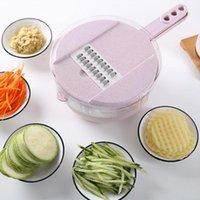Nouveau manuel des fruits de légumes découpeuse coupe-œufs multifonctionnel séparateur séparateur de cuisine accessoires de cuisine portable végétarien shred slicer
