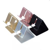 Universal Mobile Phone Tablet Desk Holder Aluminum Metal Stand For iPhone iPad Mini Samsung Smartphone Tablets Laptop MQ30