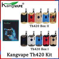 Kit de inicio 100% original de Kangvape Th420 II con batería de 650 MAH TH-420 2 Vape Caja mod para atomizador de cartucho de aceite grueso