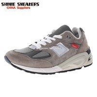 M990v2 Sneaker per gli uomini 990v2 Sneakers in pelle scamosciata Mens Scarpe sportive Donne da donna Scarpe da donna Scarpe da donna formazione uomo formazione donna atletica chaussures