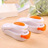 Portatile Mini Sigillatrice di calore Macchina alimentari Clip per uso domestico Impulso Snack Bag Sealer Seal Utensili da cucina Utensili Gadget Strumenti HWD5971