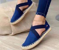 PP-Mode Verkauf Sandalen Sommer Europa und die Vereinigten Staaten Elastische Runde Kopf Kühle Hausschuhe Frauen Handel Große Damenschuhe Wohnung
