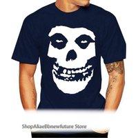 MIS Confits pour homme T-shirt de crâne moitié morts Femme Dead Skeleton Fiend Die My Darling imprimé O Col Col Tops 016695 T-shirt pour femmes