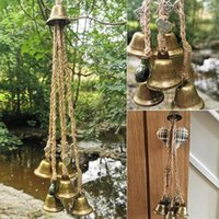 Decorative Objects & Figurines Halloween Props Witches Bells Door Charm Hanging Pendant Wicca Altar Decoration Witchcraft Supplies #4