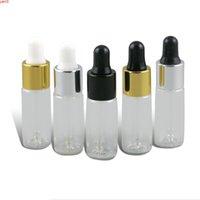 500 × 5 ملليلتر فارغة إعادة الملء العين قطارة الزجاج القوارير 5cc الروائح الصغيرة سائل ماصة زجاجة زجاجة
