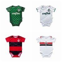 Футбольные майки Flamengo Sao Paulo Palmeiras летние детские розыгрыши мальчик девушки ползунки комбинезон одежды одежды