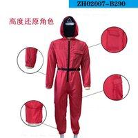 Mens Trainingspakken Designer Li Zhengjae Hoodie Jacket 456 Jassen Movie Squid Game Accessoires Cosplay Theme Kostuum Damesjas Man Jassen Mannen Outfit Kleding