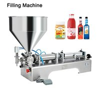 Commercial Multifunction Paste Liquid Dual Use Filling Machine Chili Sauce Filler