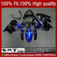 川崎ZX900 ZX9 R ZX 9R 9 R 900 900 CC 00 01 56 HC.85 Blue Black ZX900CC ZX9R 02 2002 2002 2003 2003 2001 Full Fairingsキット