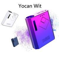 Yocan Wit Box Mod 배터리 500mAh Vape Mod E 담배 배터리 510 vape 카트리지 오일 카트 5 색 원본