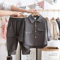 Abbigliamento per neonati Abbigliamento Abbigliamento Boys Autumn Giacca e Pantaloni Bambini Sport Vestiti Abiti 1004 V2
