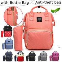 Saco anti-roubo mochilas mochilas fraldas sacos de fralda grande capacidade impermeável mochila maternidade mãe bolsas de enfermagem sacos de viagem RRA7490
