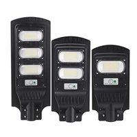 117/234/351 LED étanche Solar Street Street Light Ssem Ssem Remote Wall Applique - 117