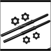 1 Pair Bars For Exercise Collars Weight Lifting Standard Adjustable Threaded Handles 45Cm1 Vz4Mc Dumbbells 2Xzxp