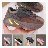 2021 Kleinkind Mädchen Junge Jugend 700 Baby Kanye West Chaussures Kinder Sport Sports Schuhe Jungen Kinder Mesh Outdoor Mode Wanderturnschuhe Ika